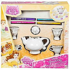 Disney Princess - Colour your own tea set