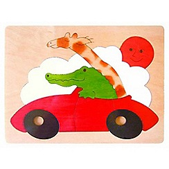 Marbel - Sports Car Jigsaw Puzzle