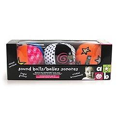 Marbel - Sound Balls Chime, Jingle, Crinkle Set