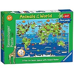 Ravensburger - Animals of the World Giant Floor Jigsaw Puzzle