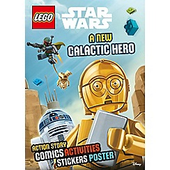 LEGO - Sticker poster new galactic hero (lnd 304) book