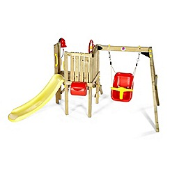 Plum - Toddlers tower wooden play centre