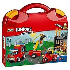 LEGO - LEGOßJuniors - Fire Patrol Suitcase 10740