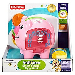 Fisher-Price - Laugh and Learn®' Smart Stages&#8482 Piggy Bank