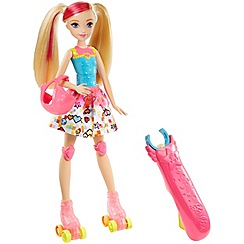 Barbie - Video Game Hero Light up Skates Barbie Doll