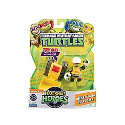 Teenage Mutant Ninja Turtles - Half-Shell Heroes 2pk Construction Mike Bulldozer