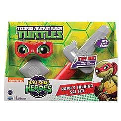 Teenage Mutant Ninja Turtles - Half-Shell Heroes Talking Soft Ninja Role Play - Raph