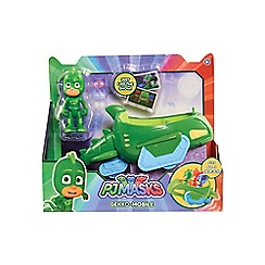 PJ Masks - Vehicle and Figure Gekko Mobile