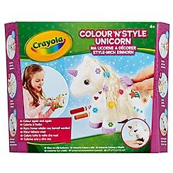 Crayola - Colour and Style Unicorn