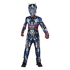 Transformers - Optimus Prime Classic Jumpsuit & Mask Costume - Medium