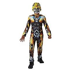 Transformers - Bumblebee Classic Jumpsuit & Mask Costume - Medium