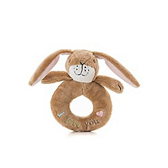 Guess How Much I Love You - Nutbrown Hare Ring Rattle