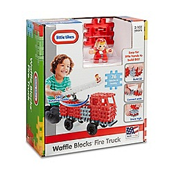 Little Tikes - Waffle Blocks Fire Truck