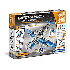 Clementoni - Mechanics Laboratory - Aeroplanes and Helicopters
