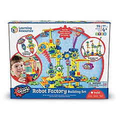 Learning Resources - Gears Robot Factory Building Set