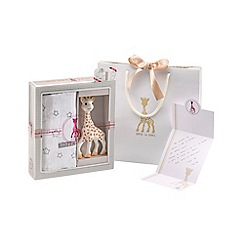 Sophie la girafe - Sophisticated Swaddle Set with Gift Bag and Card
