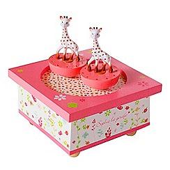 Sophie La Girafe - Spinning Music Box - Pink