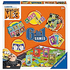 Despicable Me - 3, 6 in 1 Games