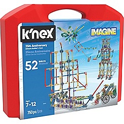 K'Nex - Imagine 25th Anniversary Ultimate 50 model construction Builders Case