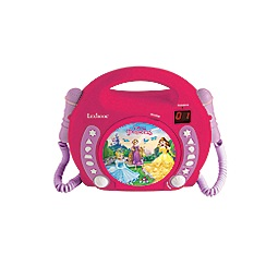 Disney Princess - CD player with Microphones
