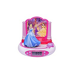 Disney Princess - Alarm Clock Projector with Radio