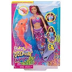 Barbie - Dolphin Magic Transforming Mermaid Doll