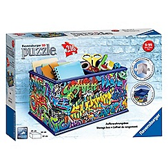 Ravensburger - Graffiti Storage Box, 216pc 3D Jigsaw Puzzle