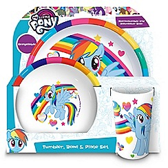 My Little Pony - Tumbler Bowl and Plate Set