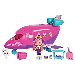 Shopkins - Shoppies Airplane Playset with Doll
