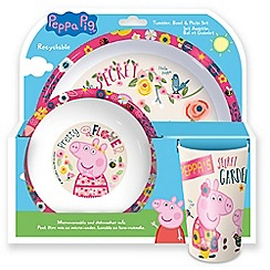 Peppa Pig - Peppa Pig Tumbler, Bowl and Plate Set