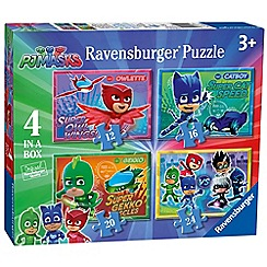 PJ Masks - Pj masks 4 in box (12, 16, 20, 24pc) jigsaw puzzles