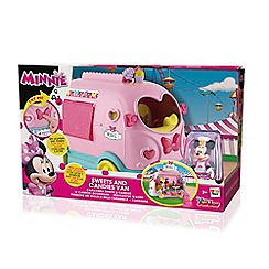 Minnie Mouse - Sweets 'n' Candies Van - Vehicle and Playset