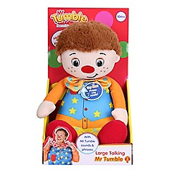 Mr Tumble - Talking Soft Toy, Press Nose To Activate
