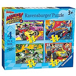 Disney - Disney mickey and roadster racers 4 in box (12, 16, 20, 24pc) jigsaw puzzles