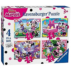 Disney - Disney minnie mouse happy helpers 4 in box (12, 16, 20, 24pc) jigsaw puzzles