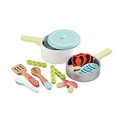Early Learning Centre - Wooden Pots and Pans
