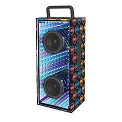 Lexibook - Flashboom - iParty Bluetooth Speaker with Lights
