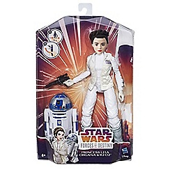 Star Wars - Forces of Destiny Princess Leia Organa and R2-D2 Adventure Set