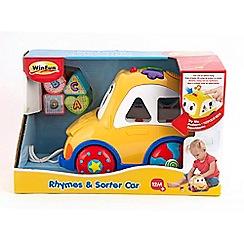 WinFun - Rhyme & Sort Car