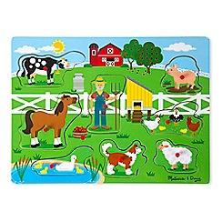 Melissa & Doug - Old MacDonald's farm sound puzzle