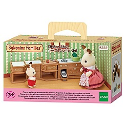 Sylvanian Families - Kitchen Stove, Sink & Counter Set