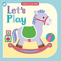 Parragon - 'Little Learners Touch and Feel Let's Play' book