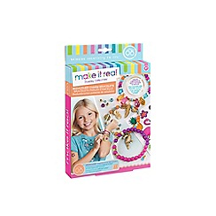 Make It Real - 'Bedazzled! Charm Bracelets - Graphic Jungle' DIY jewellery kit