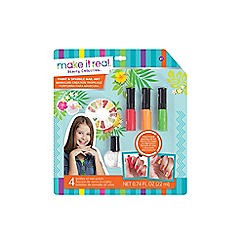 Make It Real - 'Paint and Sparkle - Graphic Jungle' nail art set