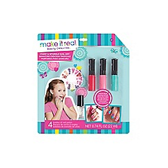 Make It Real - 'Paint and Sparkle - Blooming Creativity' nail art set