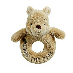 Winnie the Pooh - Classic Winnie The Pooh Ring Rattle