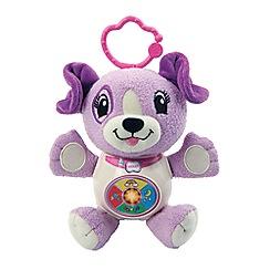 Leapfrog - Sing & snuggle violet soft toy