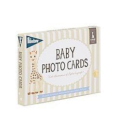 Sophie la girafe - Baby cards by milestone