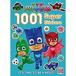 PJ Masks - '1001 Super Stickers' book