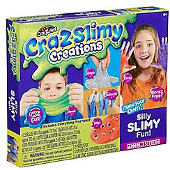 Character Options - Cra-Z-Slimy Creations Silly Slimy Fun Kit